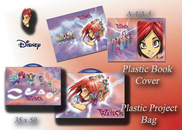 How To Make A Book Cover From Grocery Bag : E disney plastic book cover project bag
